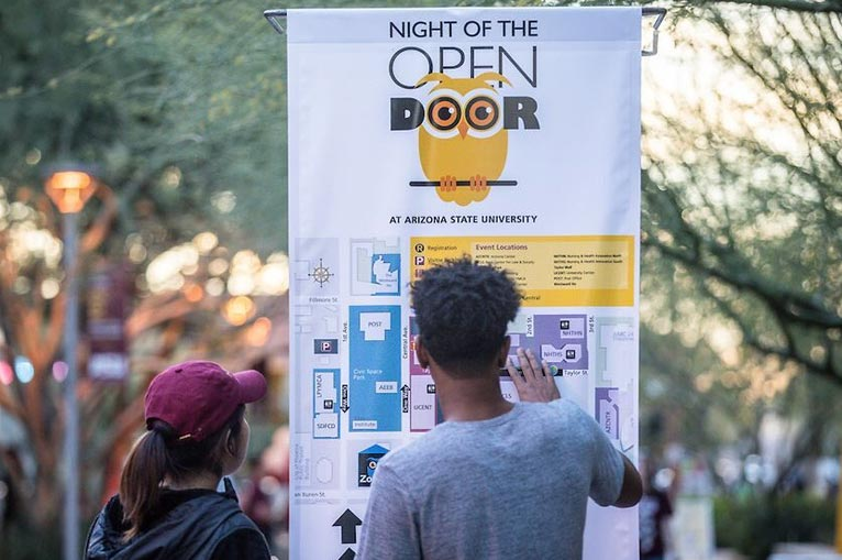 Arizona State University Night of the Open Door. u201c & Arizona State University Night of the Open Door - Entertainment ...